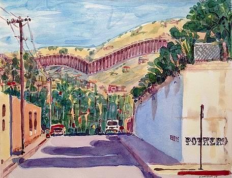 Ellis and Potrero The Wall by Virginia Vovchuk