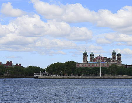 Ellis Island by Carol Turner