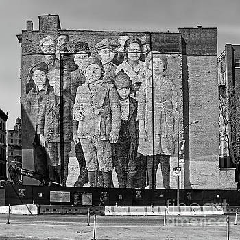 Ellis Island Immigrant Children Mural Tribeca 2 by Nishanth Gopinathan