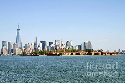 Ellis Island New York City by Steven Frame