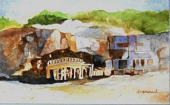 Ellora Caves by Prakash Sree S N