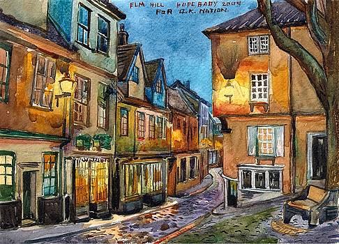 Elmhill at night Norwich by Hopebaby Pradit