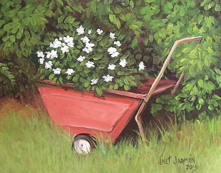 Eloise's Garden Cart by Jeanette Jarmon