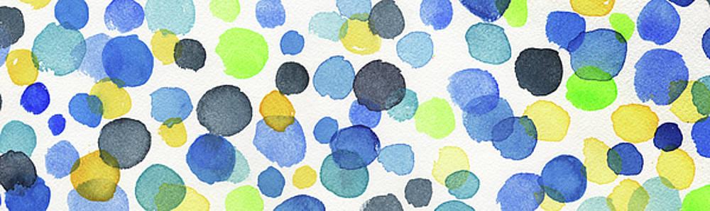 Irina Sztukowski - Elongated Abstract Happy Dots I
