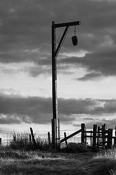 Elsdon Gibbet BW by David Taylor