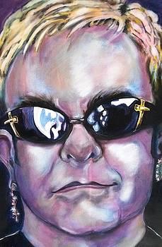 Elton John by Misty Smith