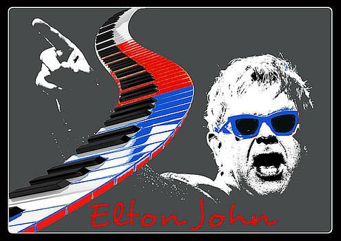 Elton John by Rumiana Nikolova