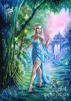 Elven Bride by Anne Koivumaki - Fine Art Anne
