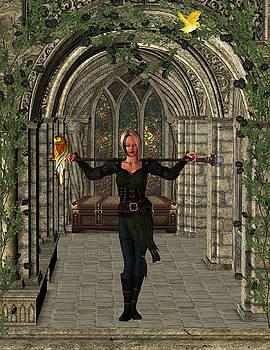 Elvin Hallway by Digital Art Cafe
