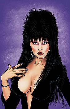 Elvira, Mistress of the Dark by Matt James