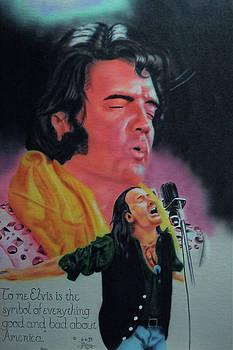 Elvis and Jon by Thomas J Herring