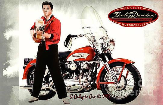 Elvis' Bikers Hat... by Scott Ashgate