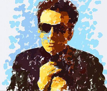 Elvis Costello Legend by John Farr