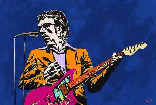Elvis Costello by Sergey Lukashin