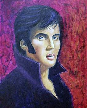 Suzanne  Marie Leclair - Elvis in Purple