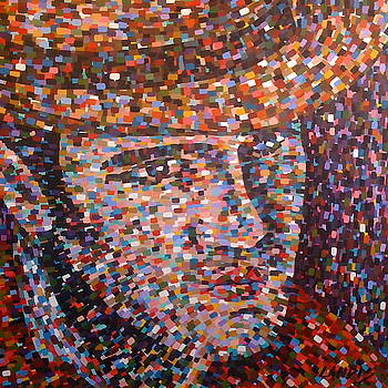 Elvis In Thought by Denise Landis