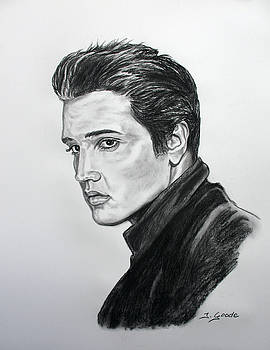 Elvis by Jana Goode