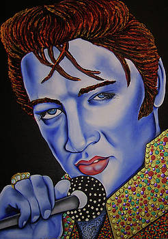 Elvis by Nannette Harris
