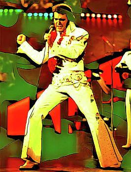 Elvis by Oscar George