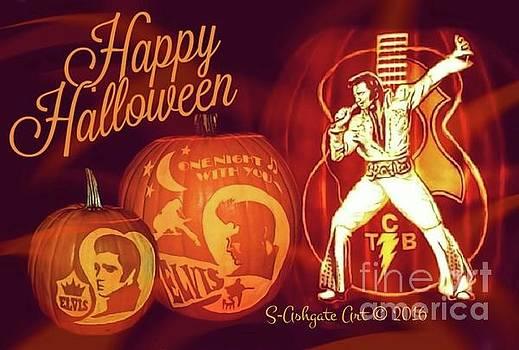 Elvis Presley Halloween by Scott Ashgate
