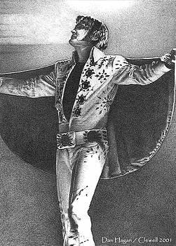 Elvis Presley II by Dan Clewell