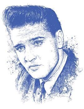 Elvis Presley Portrait by Chad Lonius