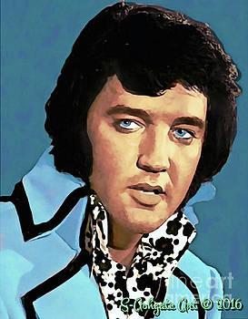 Elvis Presley portrait by Scott Ashgate