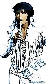 Elvis Presley by Scott Ashgate