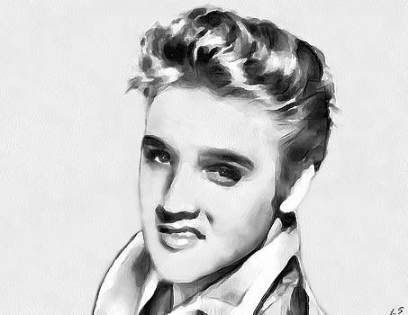 Elvis Presley by Sergey Lukashin