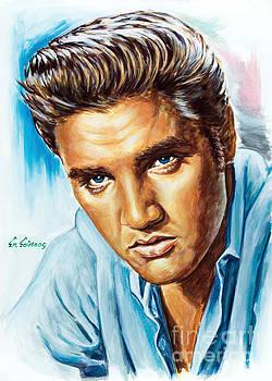 Elvis Presley by Spiros Soutsos