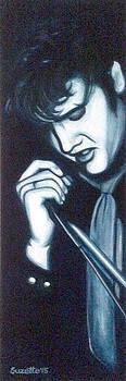 Elvis Presley by Suzette Castro