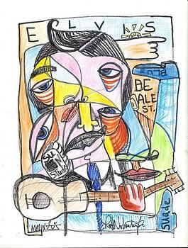 Elvis by Robert Wolverton Jr