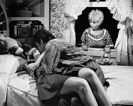 Elvis with Blondell in Window by Bob Bradshaw