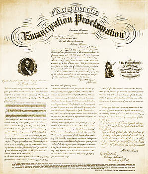 Photo Researchers - Emancipation Proclamation