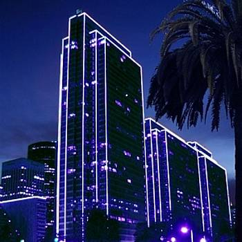 Embarcadero Lights by Richard Nodine