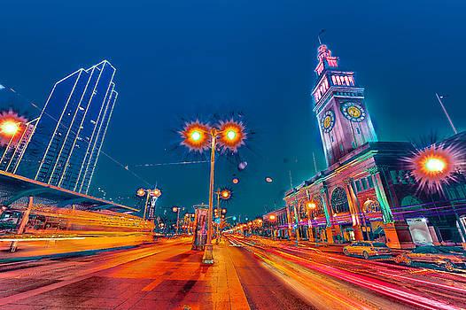 Embarcadero Lights by Steve Siri
