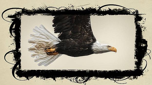 Wes and Dotty Weber - Embellished Eagle