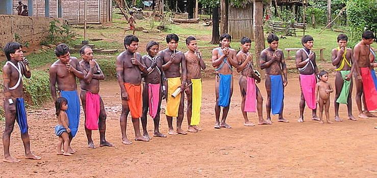 Embera Indians by Rollin Jewett