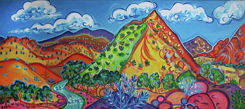 Embudo Valley Peak by Rachel Houseman