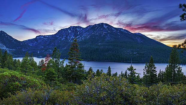 Emerald Bay Dusk by Brad Scott by Brad Scott