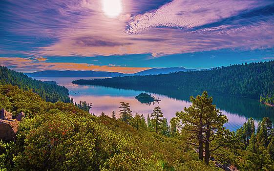 Emerald Bay IX by Steven Ainsworth