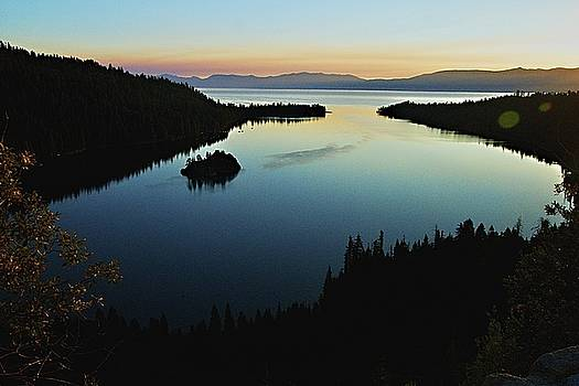 Emerald Bay, Lake Tahoe, Dawn by Michael Courtney