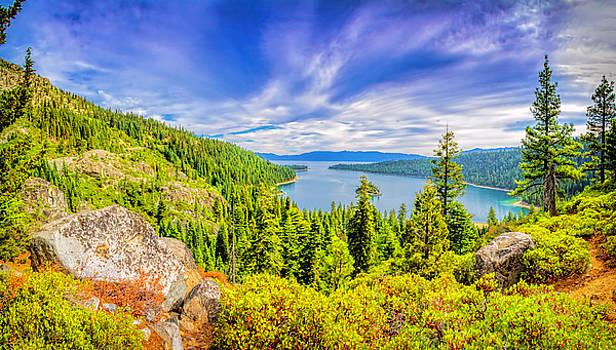 LeeAnn McLaneGoetz McLaneGoetzStudioLLCcom - Emerald Bay Lake Tahoe Panorama