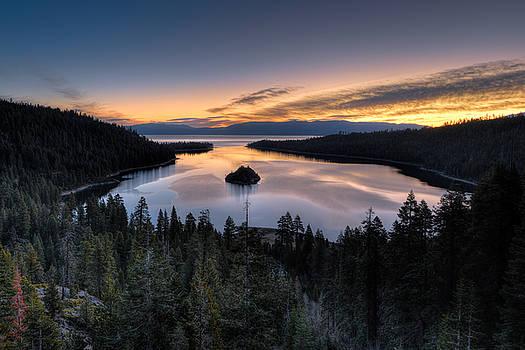 Emerald Bay Sunrise by Mark Whitt
