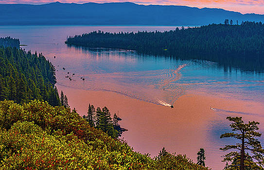 Emerald Bay VII by Steven Ainsworth