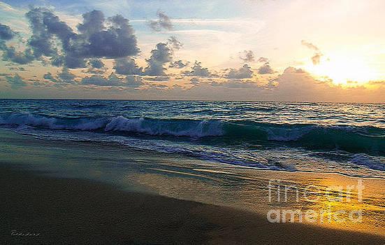 Ricardos Creations - Treasure Coast Florida Tropical Sunrise Seascape C3