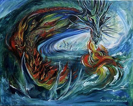 Emerald Dragon by Jennifer Christenson