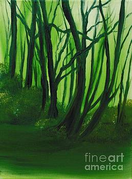 Emerald Forest. by Cynthia Adams