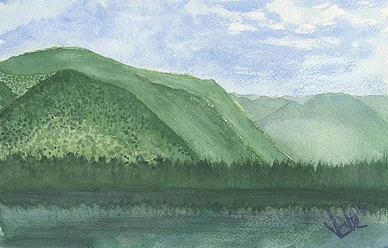 Emerald Forest by Victor Vosen