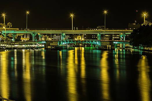 Paula Porterfield-Izzo - Green and Gold Bridge